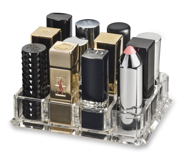 Acrylic Lipstick Organizer Designed for (Large Base Lipsticks)