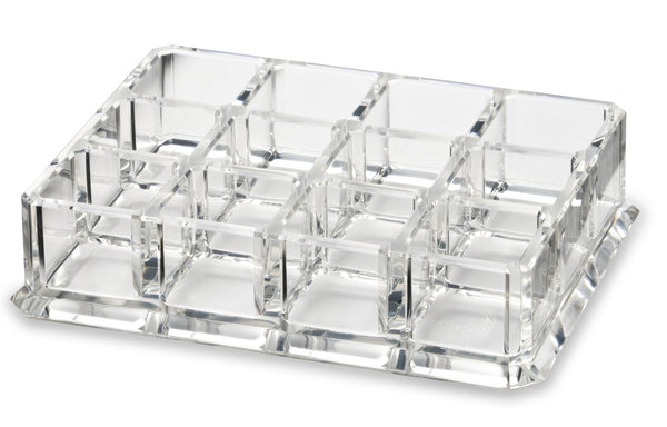 Acrylic Pigment Makeup Organizer - 12 Spaces