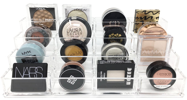 Acrylic Tiered Eyeshadow Organizer