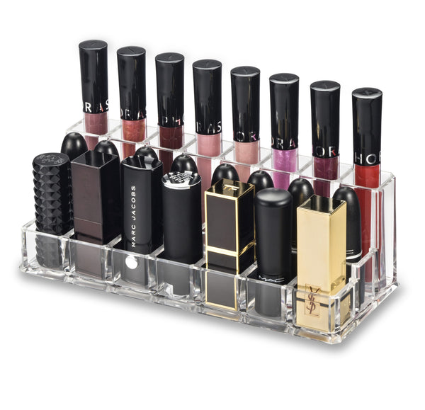 Acrylic Lip Combination Organizer (Large Base Lipstick / Lipstick / Lip Gloss)