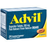 Advil Pain Reliever  - Ibuprofeno 200 mg, 24 tabletas
