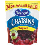 Ocean Spray Dried Cranberries - Arándanos Deshidratados
