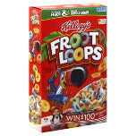 Kellogg's Froot Loops - Cereal, 17 oz.