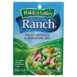 Hidden Valley The Original Ranch Dressing - Aderezo para ensaladas en polvo, 1 oz