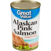 Great Value - Alaskan Pink Salmon - Salmón de Alaska en lata, 14.75 oz.