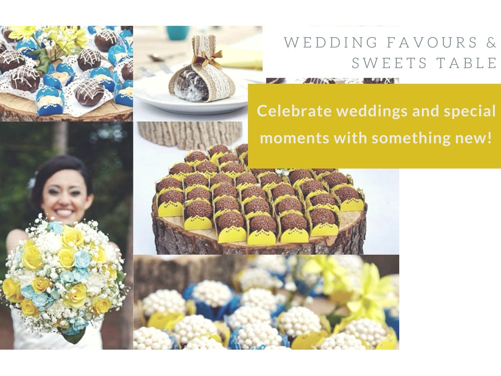 Mary's Brigadeiro Wedding Events