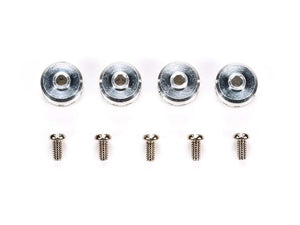 Mini 4WD Aluminum Shaft Stopper (4pcs)