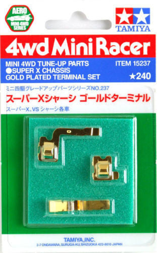 Super X Chassis Gold Plated Terminal Set