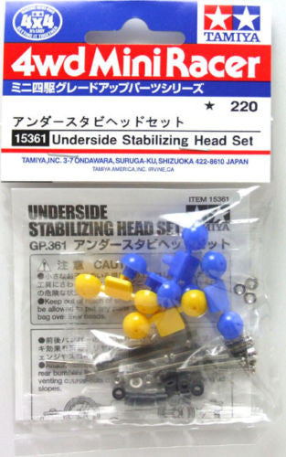 Underside Stabilizing Head Set