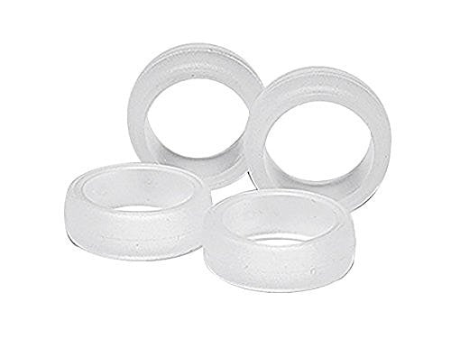Large Diameter Soft Slick Tire Set (Clear)