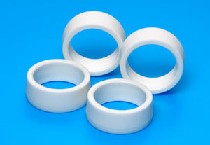 Low-Profile Offset Tread Tires (Hard/White)