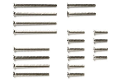 Stainless Steel Countersunk Screw Set (10/12/20/25/30mm)