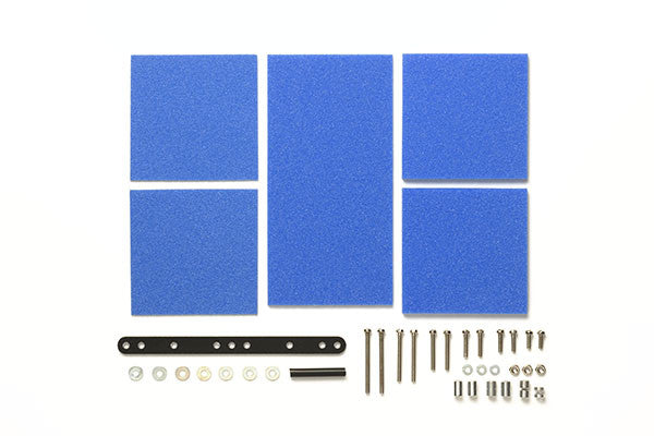 Brake Sponge Set - (Mild) 1/2/3mm Blue