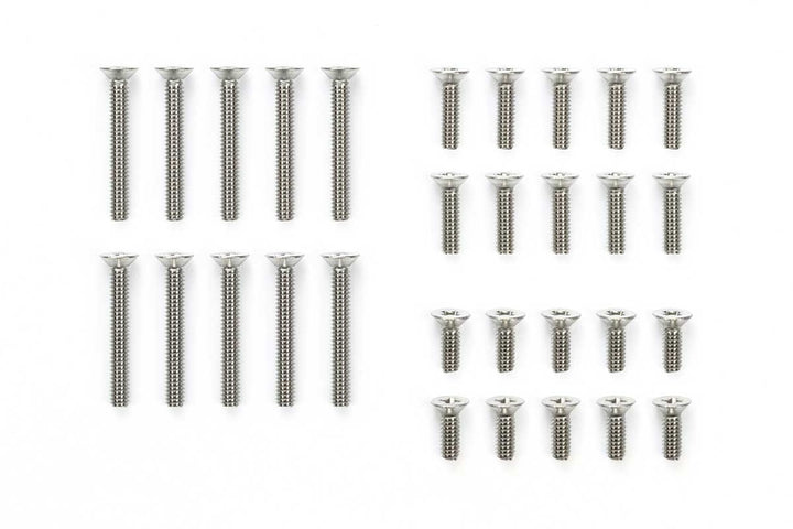 Stainless Steel Countersunk crew Set (6/8/15mm)