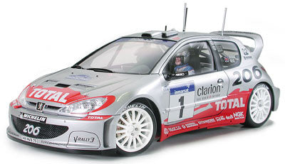 Peugeot 206 WRC Version 2002 (1/24 Scale)