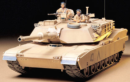 U.S. M1A1 Abrams 120mm Gun Main Battle Tank (1/35 Scale)