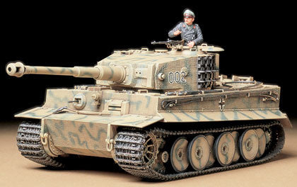German Tiger I Tank Mid Production (1/35 Scale)