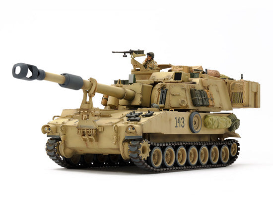 U.S. Self-Propelled Howitzer M109A6 Paladin (Iraq War) (1/35 Scale)
