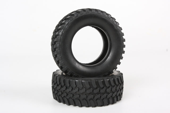 MUD BLOCK TIRES (CC-01) (2PCS.)