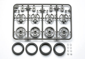 Large Dia. 1-Way Wheel Set (For Super X & XX Chassis)