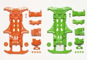 VS Fluorescent-Color Chassis Set (Orange/Green)