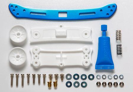 Wide Rear Sliding Damper (Blue)