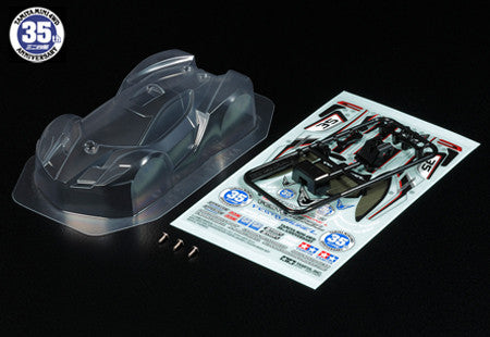 Mini 4WD 35th Anniversary Festa Jaune L Clear Body Set