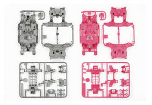 MS Chassis Set - (Silver/Pink)