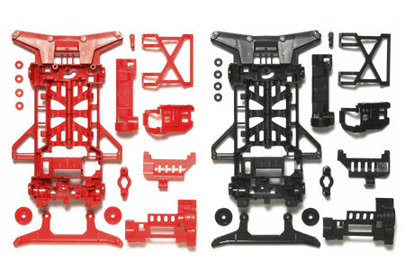 Super X Reinforced Chassis Set (Red/Black)