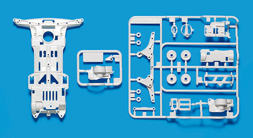 Super-II Reinforced Chassis (White)