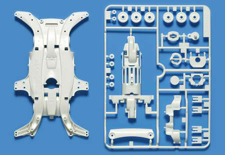MA Reinforced Chassis (White)