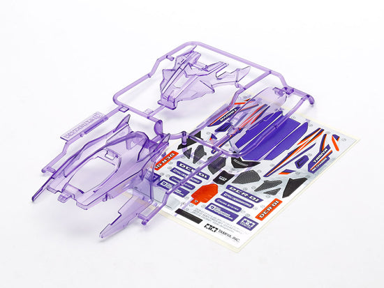 DCR-01 Body Parts Set (Clear Purple)