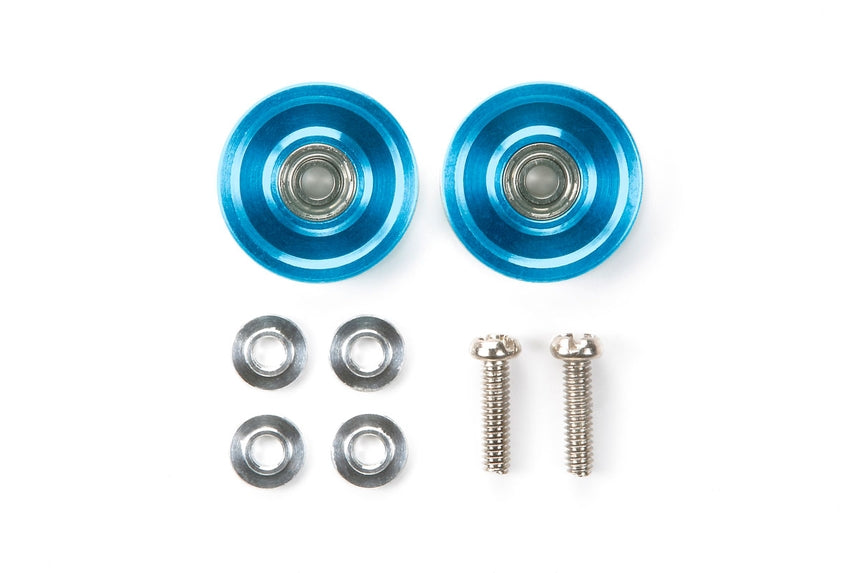 13mm Aluminum Ball-Race Rollers (Ringless/Blue)