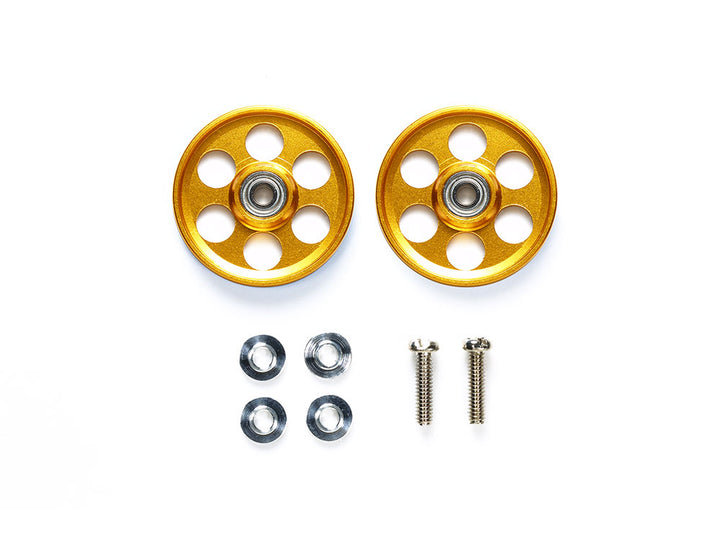HG LIGHTWEIGHT 19MM BALL-RACE ROLLERS (RINGLESS / GOLD)