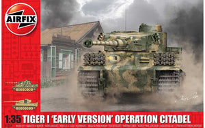"Tiger 1 ""Early Version""  Operation Citadel 1:35"
