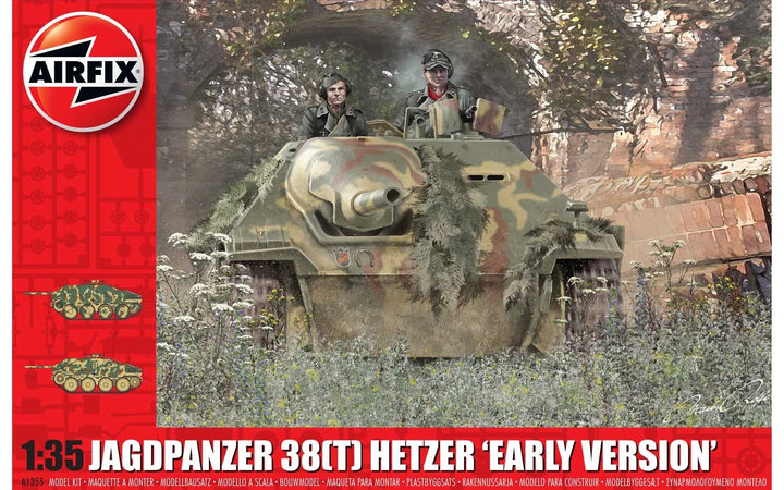 JagdPanzer 38 tonne Hetzer Early Version