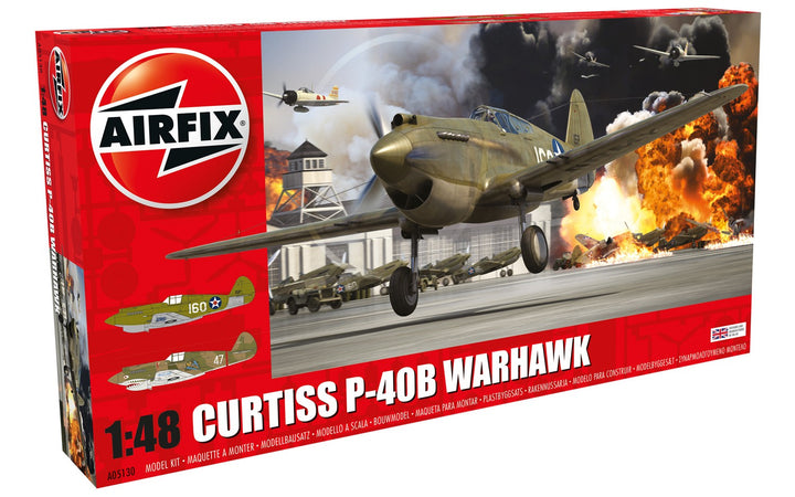 Curtiss P-40B Warhawk 1:48