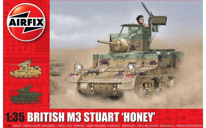 "British M3 Stuart ""Honey"""