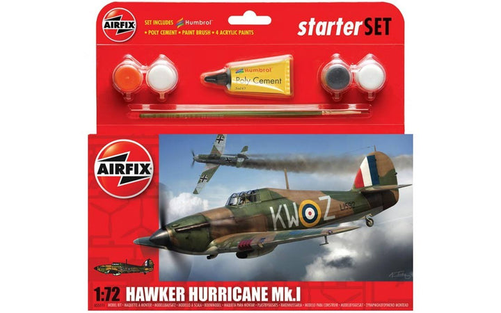 Hawker Hurricane MkI Starter Set 1:72