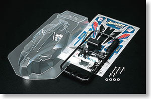 MINI 4WD PRO Avante MKII Clear Body Set