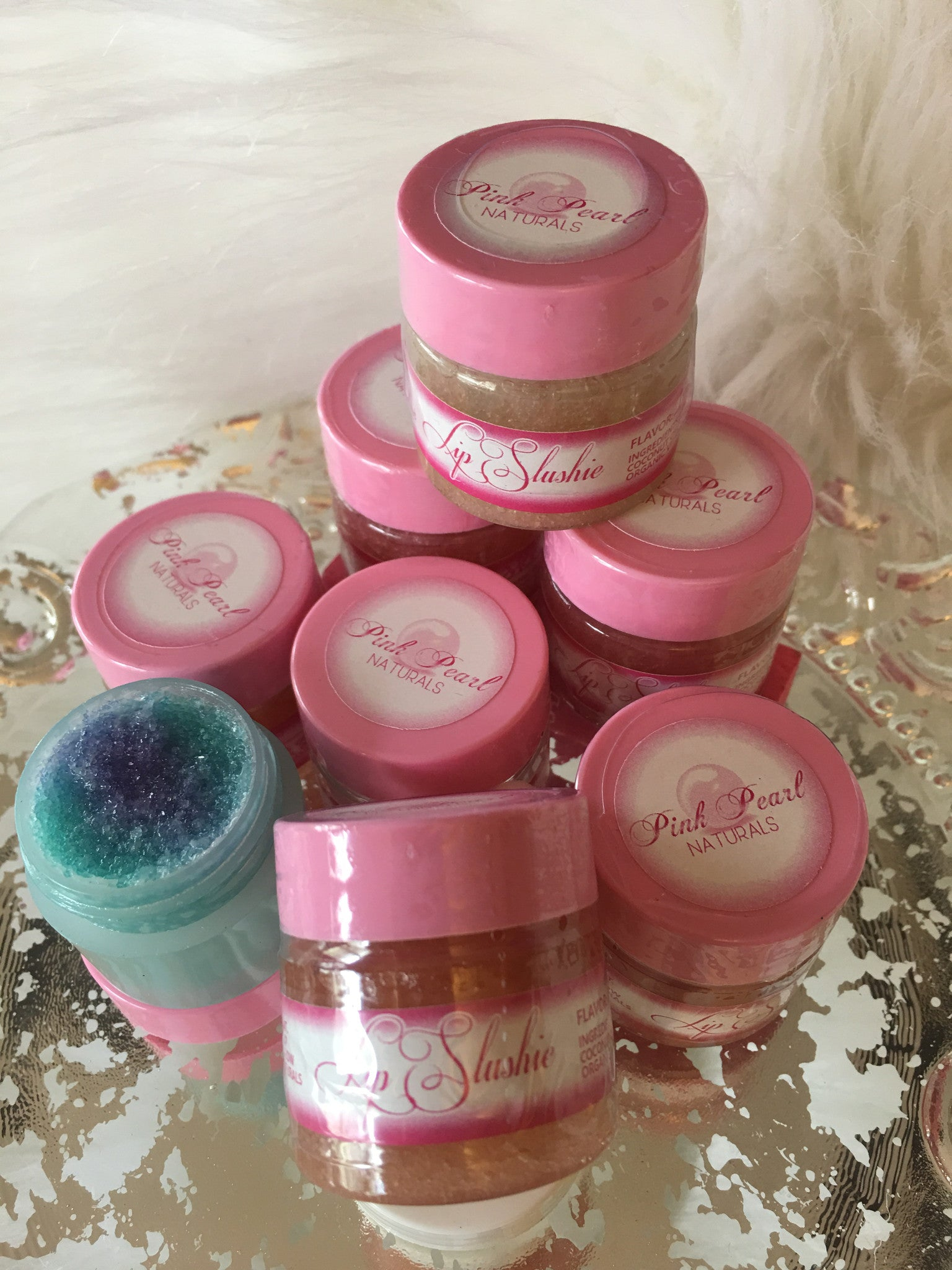 SIGNATURE EXFOLIATING LIP SLUSHIES .5OZ