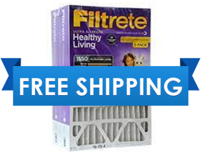16x25x4 Filtrete High Performance Furnace Filter Air Filter MERV 11 by 3m