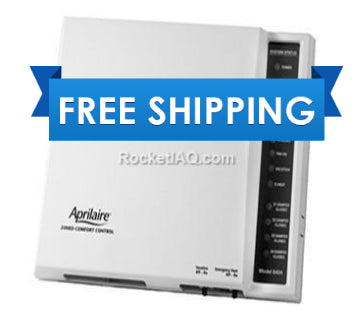 Genuine Aprilaire 6404 Single or Multi-Stage 4-Zone Heat & Cool Pump Control Panel