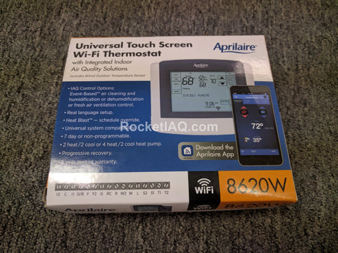 Genuine Aprilaire 8620W Wifi Thermostat w/ IAQ Control