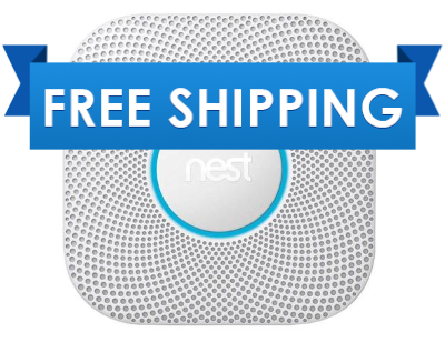 Nest Protect S3004WBUS Battery Powered Wi-Fi Enabled Smoke/CO Detector- Pro Series