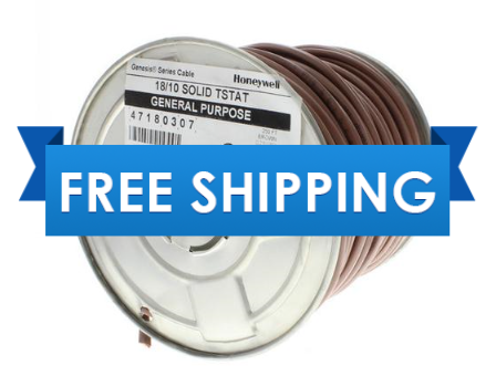 18/10 UL 47180307 Thermostat Wire 250' Roll