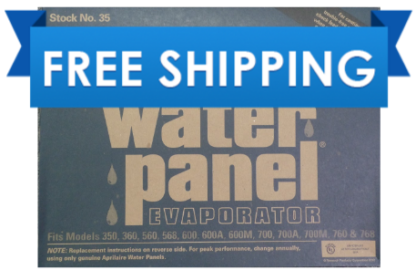 Genuine Aprilaire 35 Water Panel