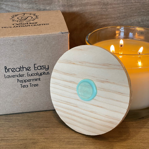 Breathe Easy 3-Wick Glass Candle