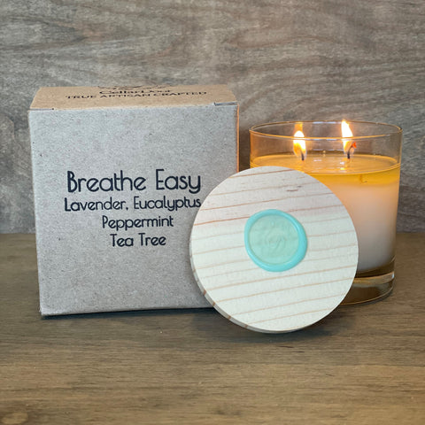 Breathe Easy 2-Wick Glass Candle