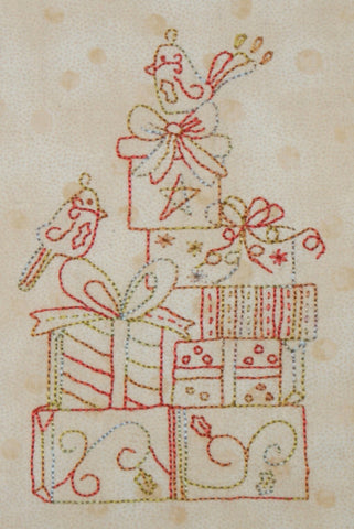Free Christmas Stich Along  - Month 4 is now available